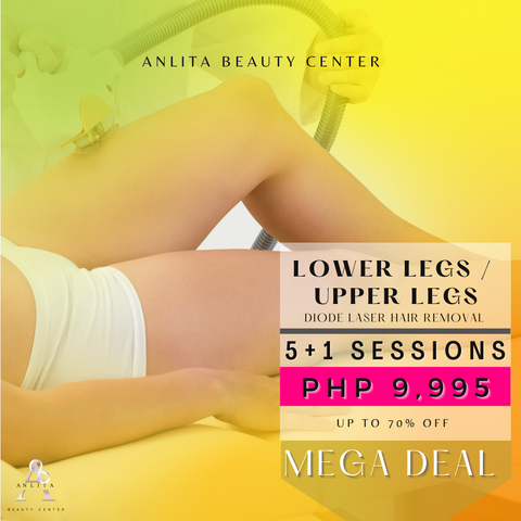 MEGA DEAL - UPPER / LOWER LEGS LASER HAIR REMOVAL