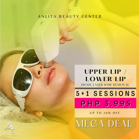 MEGA DEAL - UPPER / LOWER LIP LASER HAIR REMOVAL