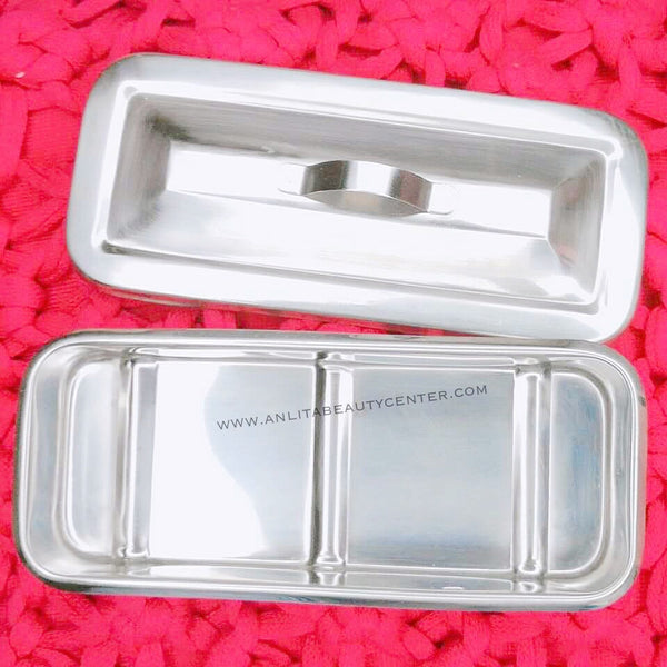Stainless Tray w/ cover