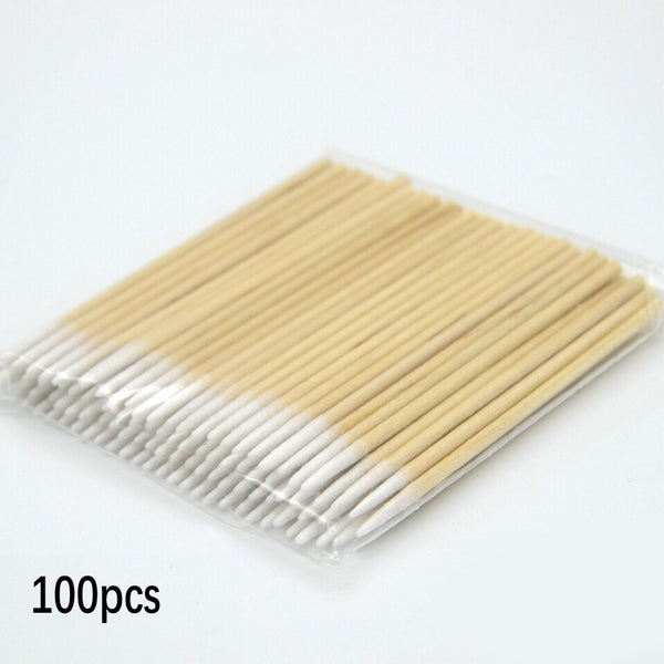 Wooden Cotton Stick (per pack)