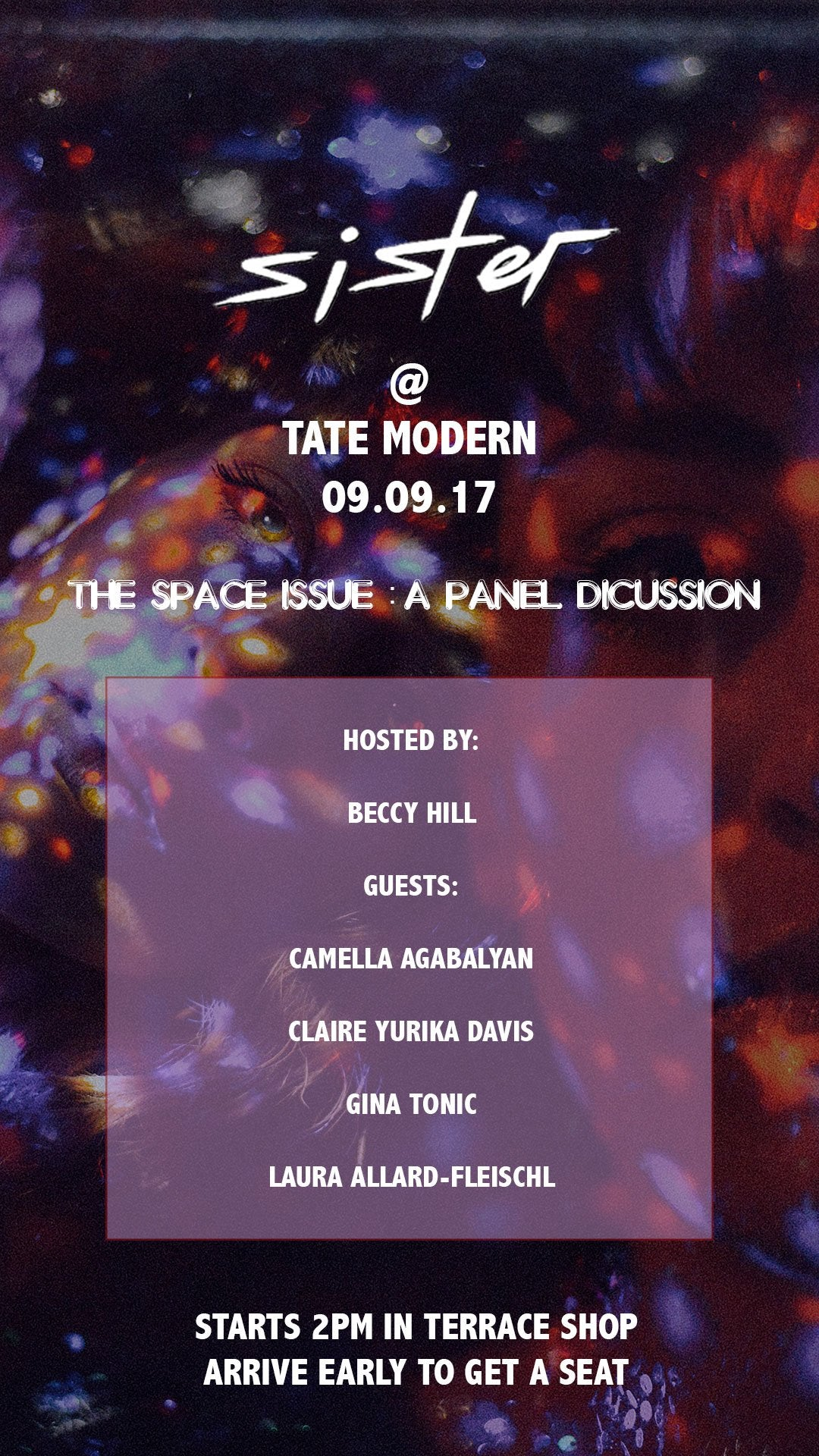 The Space Issue Launch & Panel Discussion