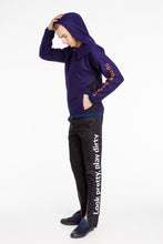 Load image into Gallery viewer, Unisex Purple Bomber Jacket