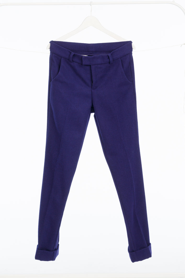 DAMUR - 002 - Tailored Straight Trousers - Woman