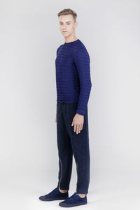 DAMUR - 001 - Handmade sweater - Man