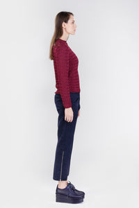 DAMUR - 001 - Handmade sweater - Woman