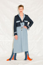 DAMUR - 004 - Denim Trench Coat - Unisex