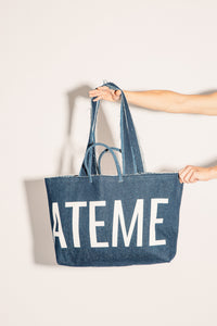 #LIBERATEME denim bag