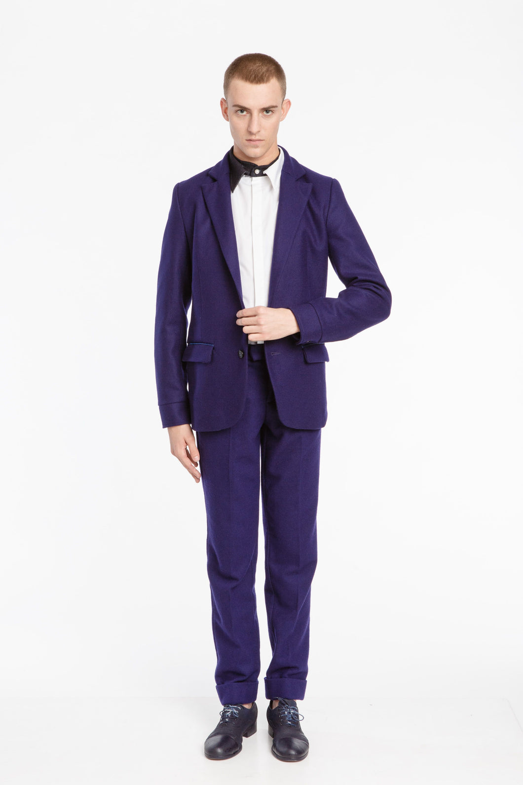 Men's Purple Trousers