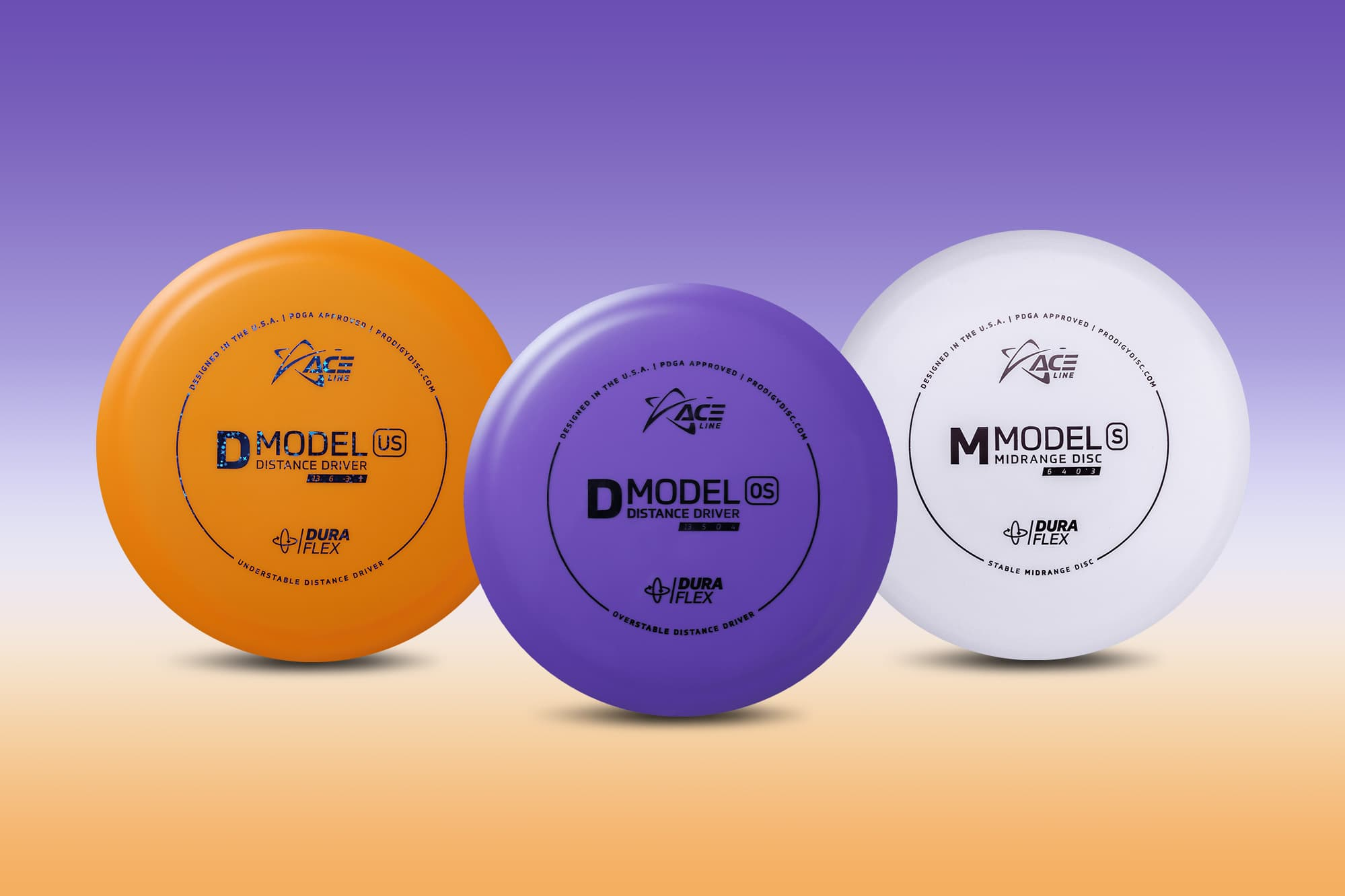 DuraFlex Plastic and Three New ACE Line Models Available March 26th