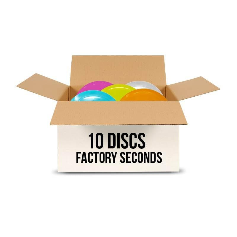 10 Disc Factory Seconds Mystery Box