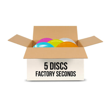 5 Disc Factory Seconds Mystery Box
