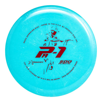 Prodigy PA-1 500 Plastic - Seppo Paju Signature Series w/ TEAM Bottom Stamp