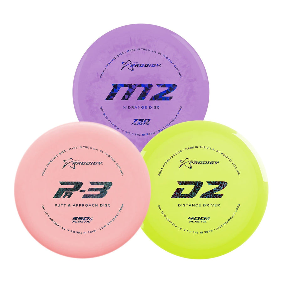 Prodigy Advanced Bundle - 3 Discs - Prodigy Disc
