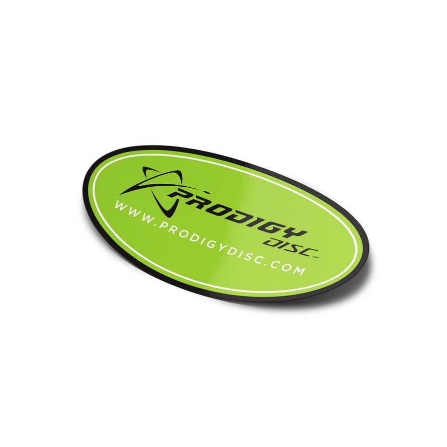 Prodigy Oval Logo Sticker - Prodigy Disc
