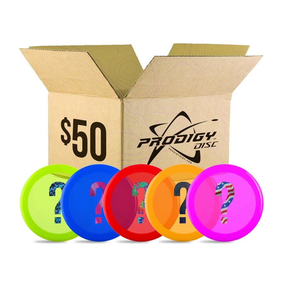 Prodigy Seconds & Misprint Mystery Box - 5 for $50 - Prodigy Disc
