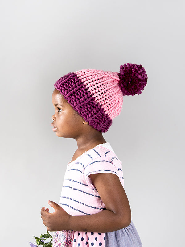 New Kid On The Block Beanie Pattern // PDF