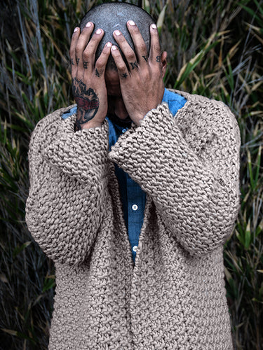 Witch's Tit Cardigan Pattern // PDF