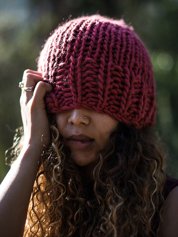 Head in the Clouds Beanie Pattern // PDF