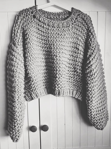 Overeasy Pullover Pattern // PDF