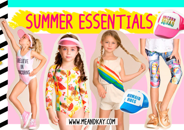Summer essentials (and essential summer looks from Hannah Banana and more!)