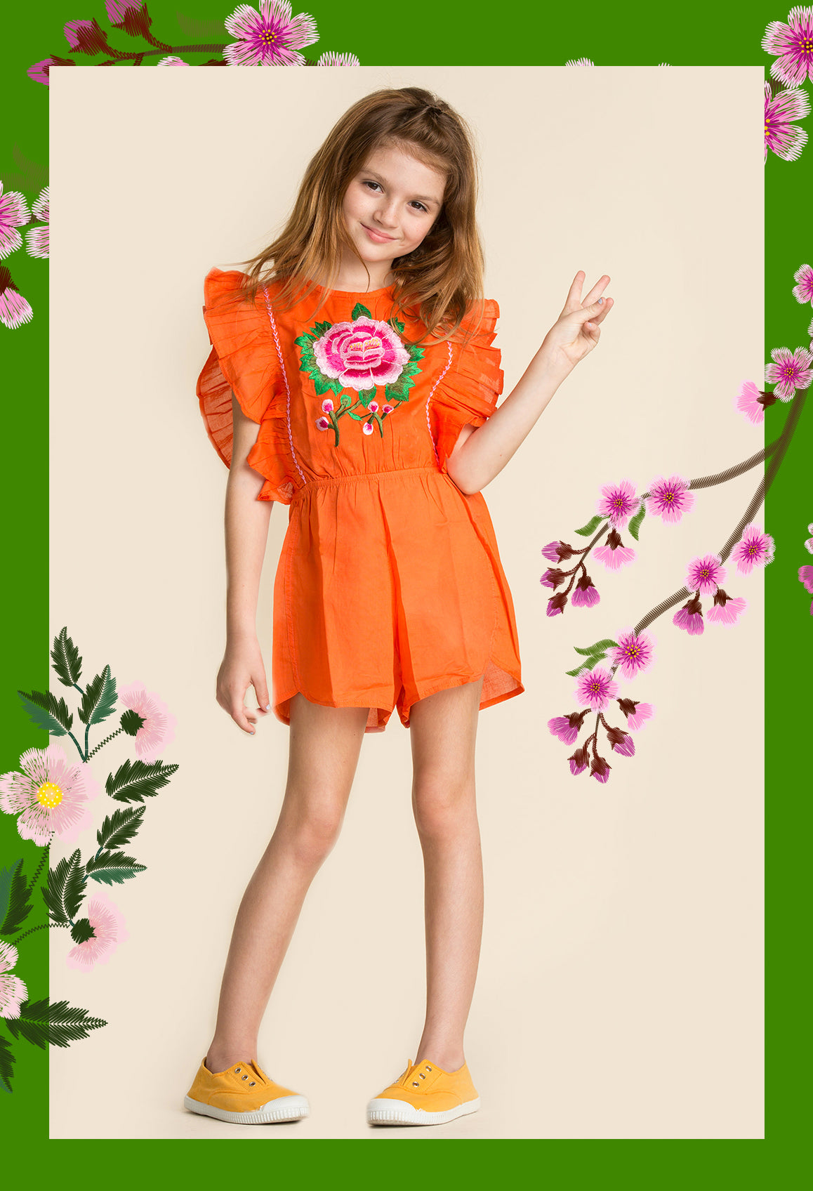 Coco Ginger Romper