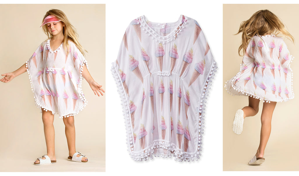 stella cove ice cream poncho