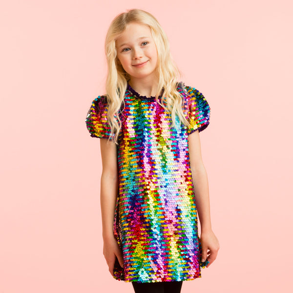 Holly Hastie Rainbow Sequin Dress