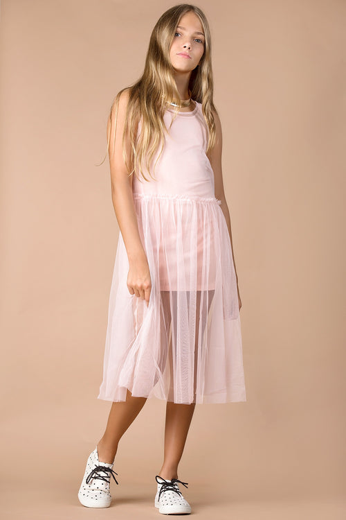 bebe girls tulle dress