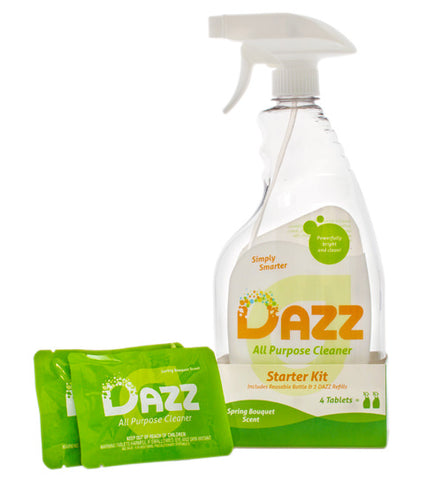 DAZZ All Purpose Cleaner Tablet - Starter Kit