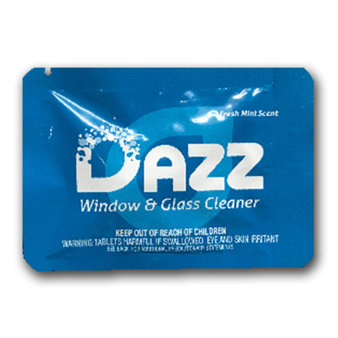 DAZZ Window & Glass Cleaner Tablet - Free Sample Pack (+ Shipping)