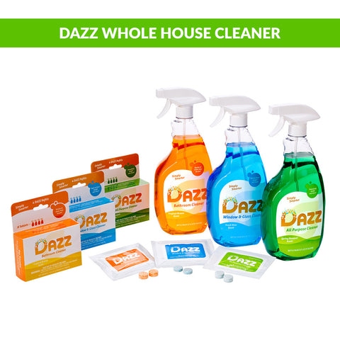 DAZZ Whole House Cleaner Tablet - Starter Kit