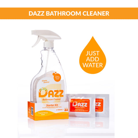 DAZZ Bathroom Cleaner Tablet - Starter Kit