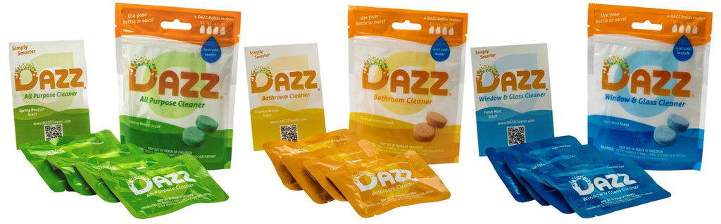 DAZZ Whole House Cleaner Tablet - Refill Kit