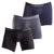 Mid Boxers Smart 3 Pack Cotton