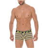 Short Boxers Briefs Fiesta Stripes Microfiber Summer Break