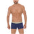 Short Boxers Briefs Plena Solid Microfiber Summer Break