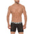 Mid Boxers Briefs Animalistics Solid Microfiber Summer Break
