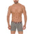 Mid Boxers Briefs Contento Solid Cotton Summer Break