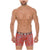 Mid Boxers Briefs Baluarte Print Microfiber Summer Break