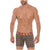 Mid Boxers Briefs Disfraz Solid Microfiber Summer Break
