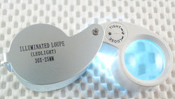 30x Lighted Jeweler's Loupe