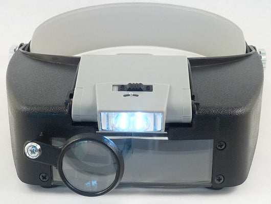 Lighted Head Magnifier