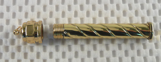 Brass Needle Case