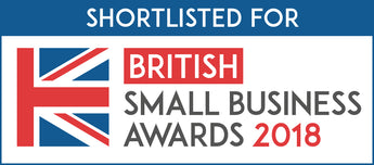 Nominated for The British Small Business Awards 2018