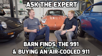 That Nine Eleven Guy (@lee_sibs) talks to Alan about Barn Finds, the 991 and buying an air cooled 911