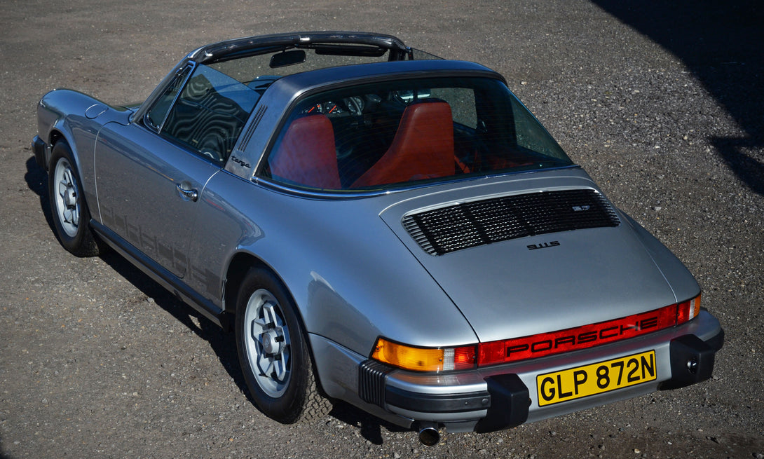 1975S Porsche Targa Restoration Project