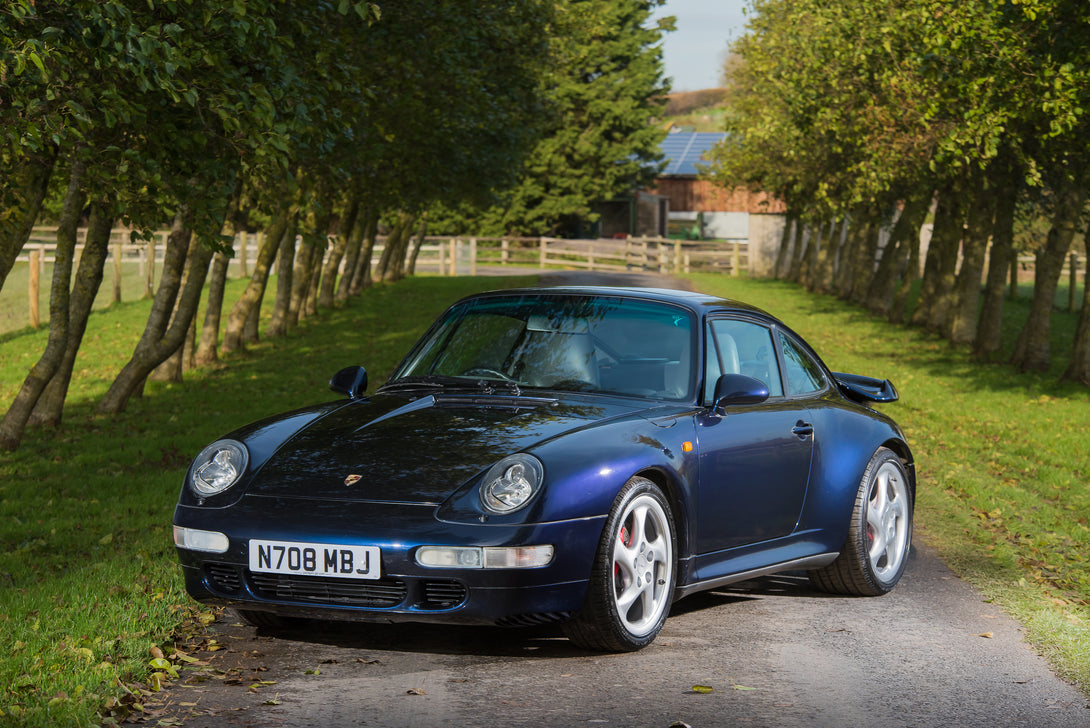 SOLD! 1996 Porsche 993 Turbo
