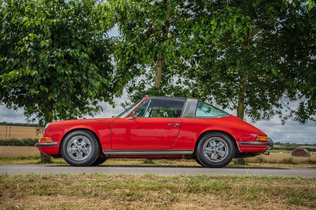 1973 RHD Porsche 911E Targa For Sale (matching numbers)