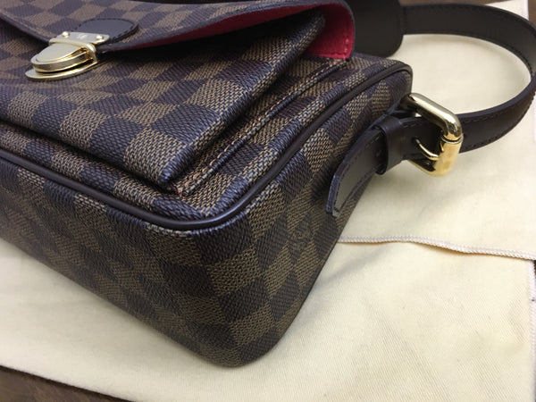 Louis Vuitton Ravello GM Shoulder in Damier Ebene - As New