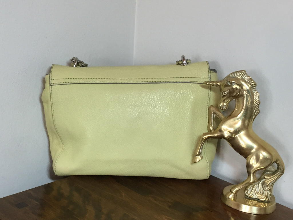 d0598a60cd27 ... clearance mulberry regular lily in pistachio with silver hardware 84135  238cc